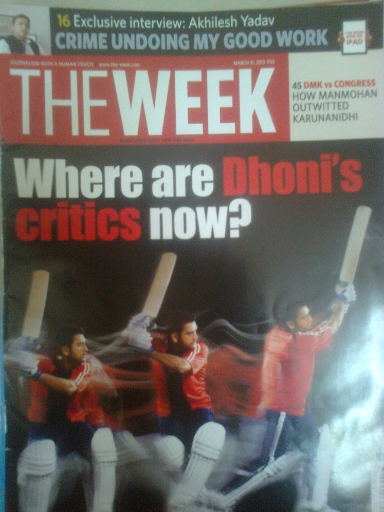 The Week -31 March 2013